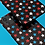 Thumbnail: Red, White and Blue Stars on Dark Gradient iPhone Case