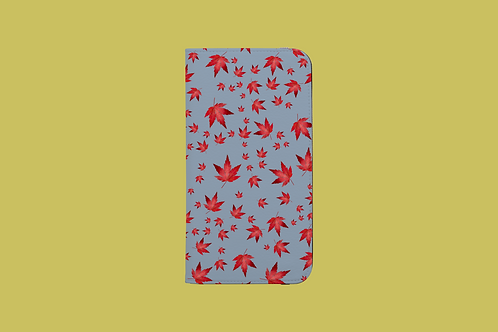 Stormy Bright Acer iPhone Folio Wallet Case