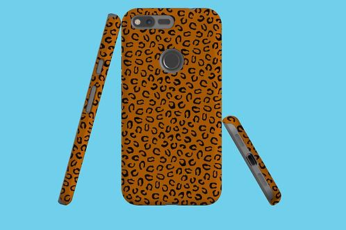Leopard Tan Google Pixel Case