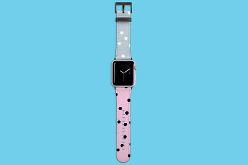Bubblegum Dots Apple Watch Strap