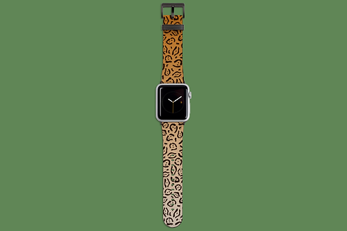 Jaguar Print Apple Watch Strap