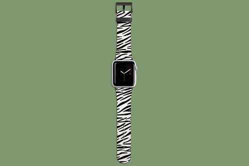 Zebra Print Apple Watch Strap