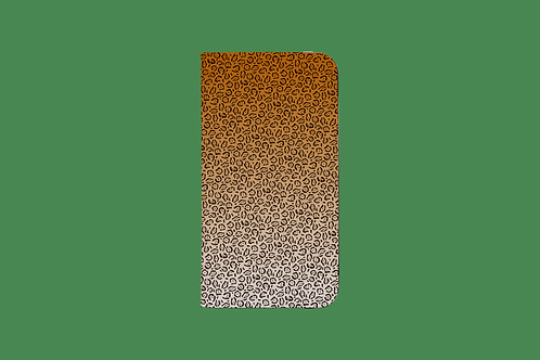 Jaguar Print iPhone Folio Wallet Case