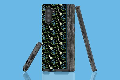 Driftwood Blue Flower Vines Samsung Galaxy Case