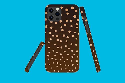 Bonfire Dots iPhone Case