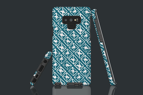 Little Boxes Teal Samsung Galaxy Case