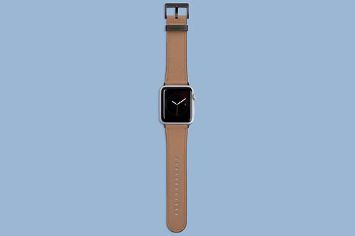 Macchiato Solid Colour Apple Watch Strap