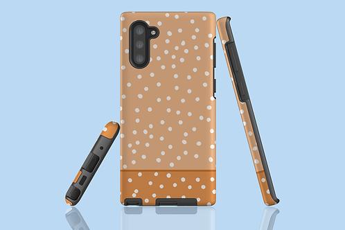 Two Tone Nude Polka Dots Samsung Galaxy Case