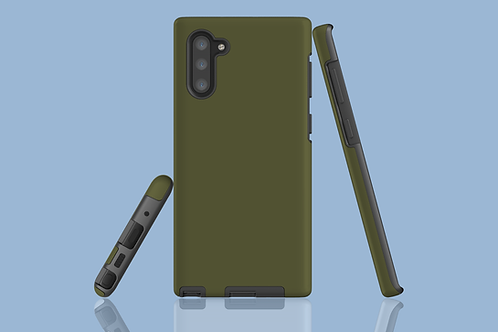 Moss Green Solid Colour Samsung Galaxy Case