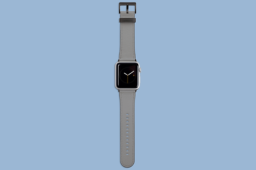 Ultimate Grey Solid Colour Apple Watch Strap