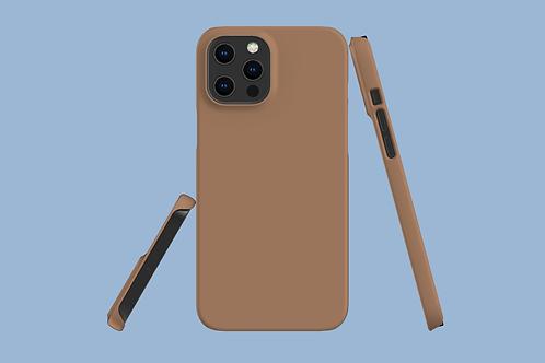Macchiato Solid Colour iPhone Case