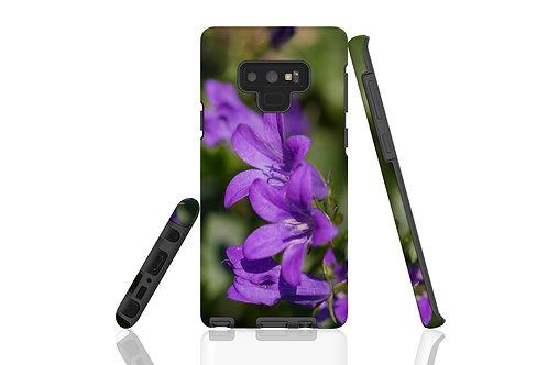 Purple Flowers Samsung Galaxy Case