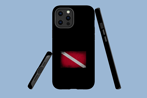 Small Dive Flag iPhone Case