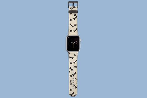 Dog Paw and Bone Apple Watch Strap