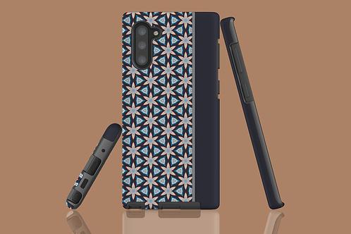 Floral Geometric Grey Panel Samsung Galaxy Case