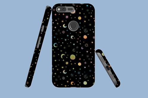 Moons and Stars Google Pixel Case