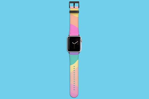 Pastel Rainbow Apple Watch Strap