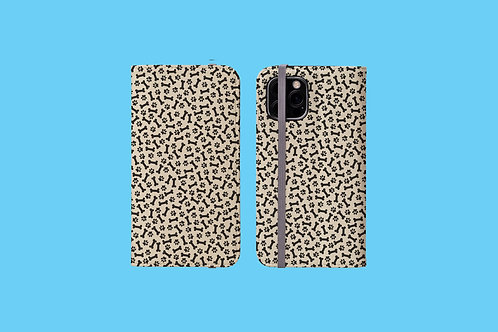 Dow Paw and Bone iPhone Folio Wallet Case
