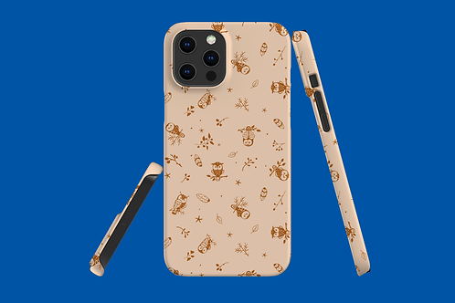 Brown Owl iPhone Case