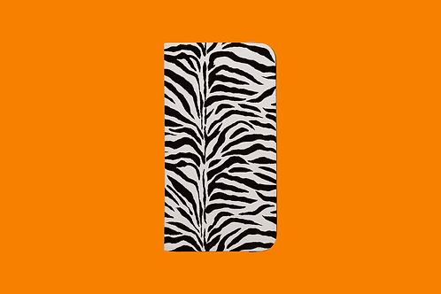 Zebra Stripes iPhone Folio Wallet Case