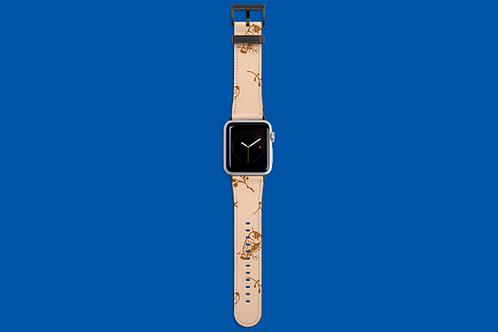 Brown Owl Apple Watch Strap