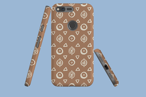 Abstract Circles and Triangles Google Pixel Case