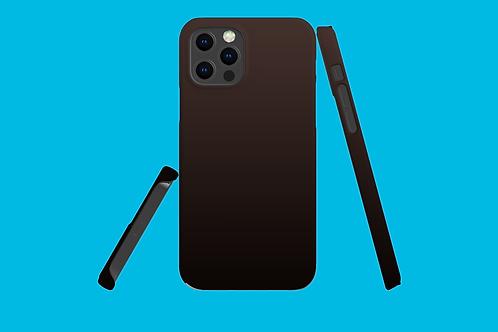 Dark Gradient iPhone Case