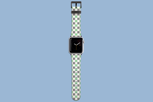 Peppermint Squares Apple Watch Strap