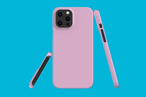 Bubblegum Pink Solid Colour iPhone Case