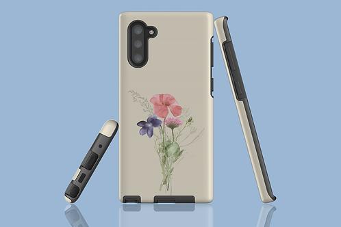 Poppy, Violet, and Daisy Samsung Galaxy Case