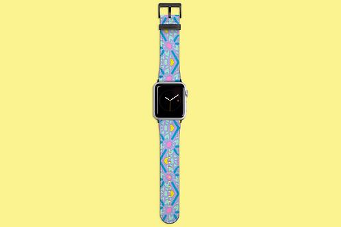 Pastel Kaleidoscope Apple Watch Strap