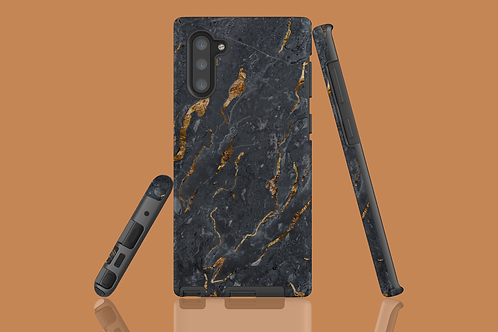 Black and Gold Marble Samsung Galaxy Case