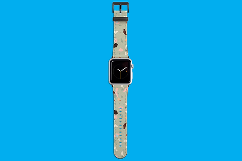 Abstract Patches Apple Watch Strap