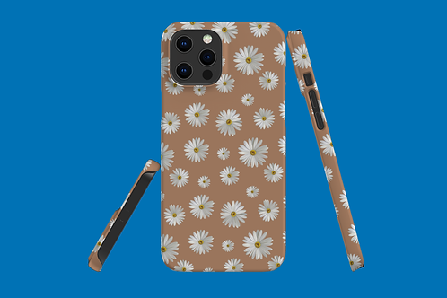 Daisies on Beige iPhone Case