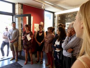 L'Atelier de St Barthélémy d'Anjou bel et bien inauguré ! Merci à toutes et tous pour votre