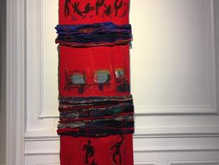 L'exposition Art Textile à Orvault s'achève bientôt, Anne Zerna, Pauline Bourguignon et Liza