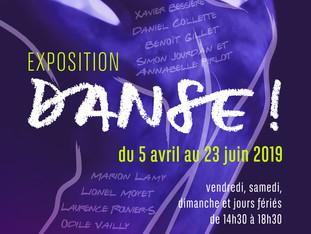 """Exposition """" Danse """" à la Galerie Village d'Artistes de Rablay/Layon"""