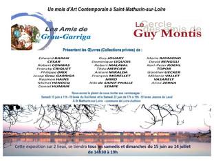 Art Contemporain à St Mathurin sur Loire