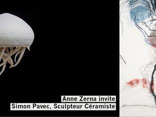 Vernissage Exposition Simon PAVEC et Anne ZERNA Jeudi 21 Novembre 2019 à partir de 18h30