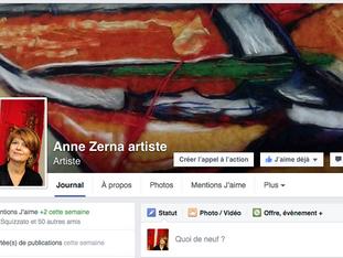 Une page Facebook désormais  !