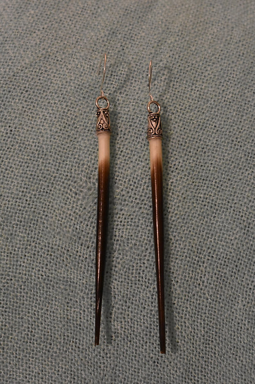 Porcupine Quill Protection Earrings
