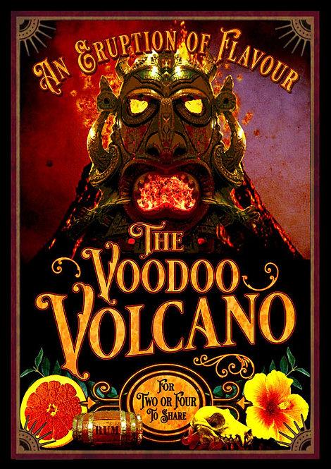Luwow Art Print: Voodoo Volcano