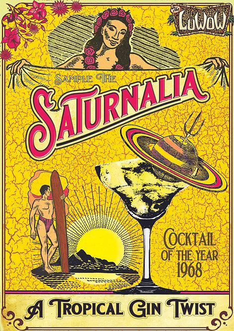 Luwow Art Print: Saturnalia