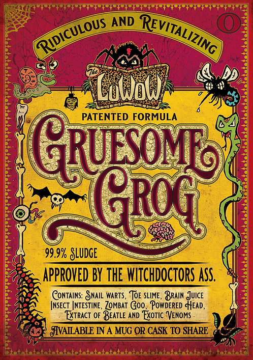 LuWOW Art Print: Gruesome Grog