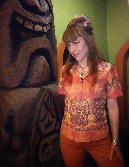 The LuWOW Ladies Tiki Shirt