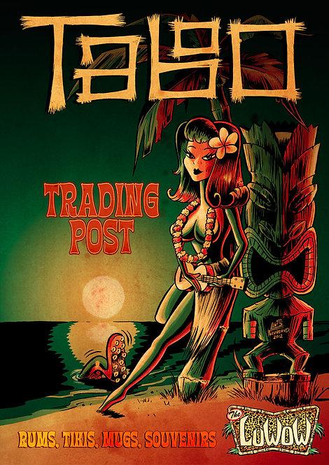 LuWOW Art Print: Taboo Trading Post