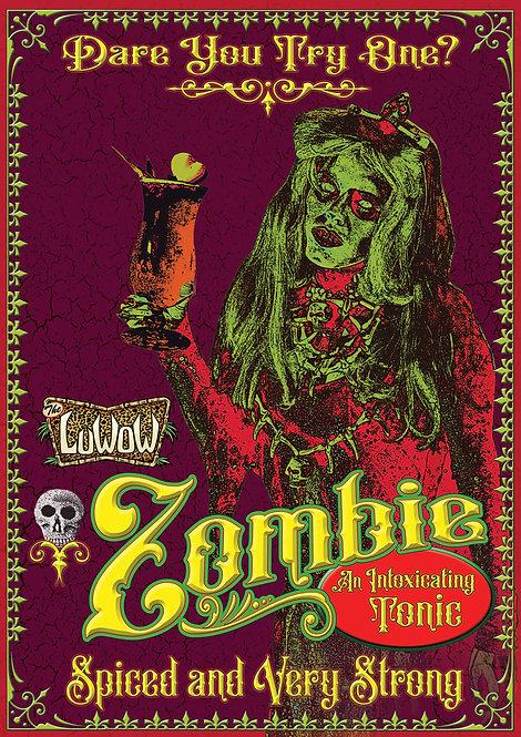 LuWOW Art Print: The Zombie