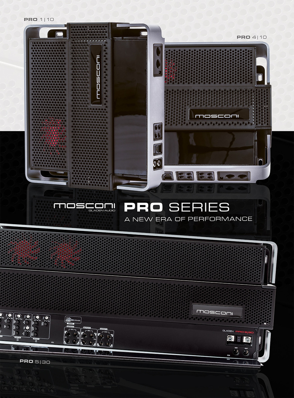 Mosconi PRO Amplifiers
