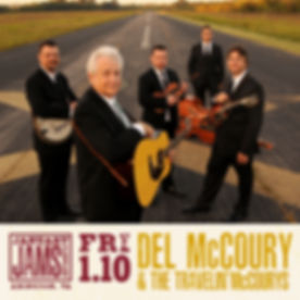 January Jams 2020 Del McCoury