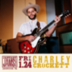 January Jams 2020 at Barter Theatre Charley Crockett